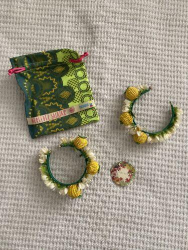 Mercedes Salazar Lemon Hoop Earrings