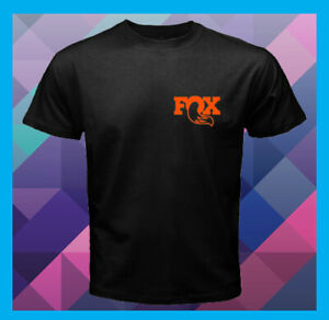 Fox-Factory-Logo-ATVs-Mountain-Bikes-Motocross-Men-039-s-T-Shirt-S-M-L-XL-2XL-3XL