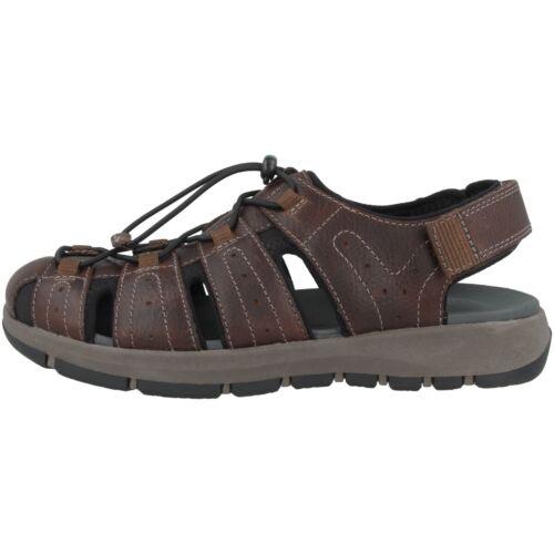 Clarks Brixby Cove Schuhe Men Herren Sandale Hiking Trail Leder Sandaletten 2613