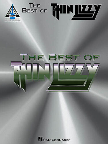 GUITAR TAB SHEET MUSIC BOOK *NEW* BEST OF THIN LIZZY