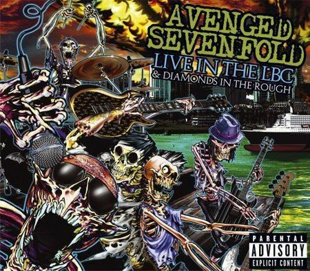 1 of 1 - Avenged Sevenfold - Live in the LBC and Diamonds in the Rough  CD DVD SET