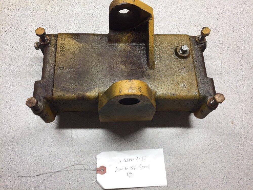 Montgomery wards Gilson 16 Tractor Briggs & Stratton 326437 Motor sumidero cárter de aceite