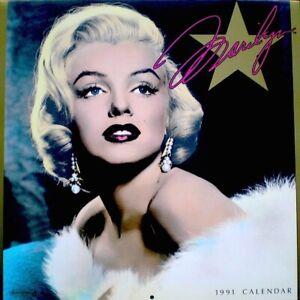 Marilyn-Monroe-1991-Pinup-Calendar-Powolny-Promo-Photo-Publicity-NM-MT-SEALED