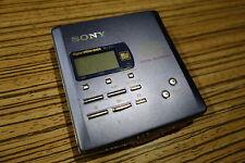 Sony MD Minidisc MZ R55 .  (44) Player Recorder Blau mit Mic Zugang