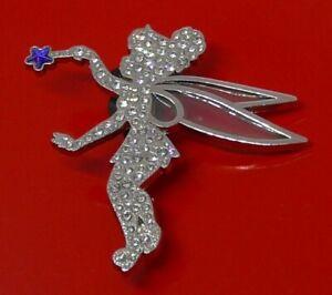 Used-Disney-Enamel-Pin-Badge-Tinker-Bell-Character-DLP-Disneyland-Paris