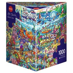 RITA BERMAN - MAGIC SEA - Heye Puzzle 29839 - 1000 Teile Pcs.