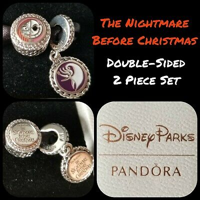 Disney Parks Nightmare Before Christmas Pandora Charms Set | eBay