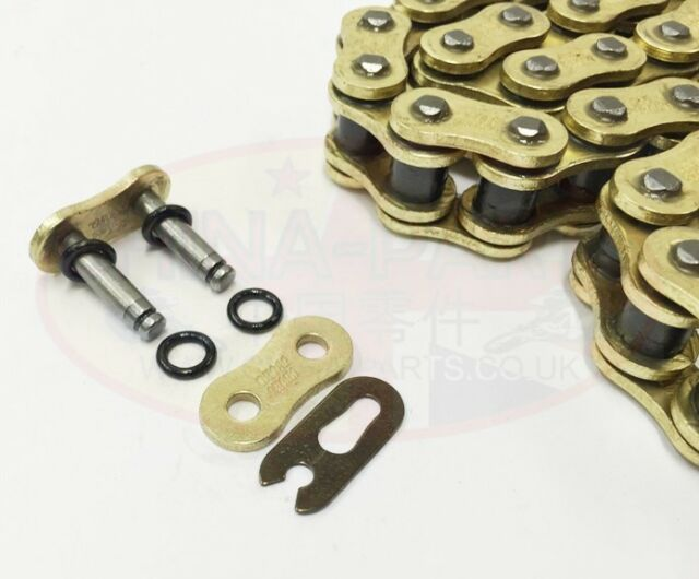 Heavy Duty Motorcycle O-Ring Drive Chain 530-114 for Triumph 1050 Tiger 07-13