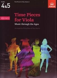Musical Instruments & Gear Sheet Music & Song Books Time Pieces For Viola Vol2 Bass/harris Viola & Pf*