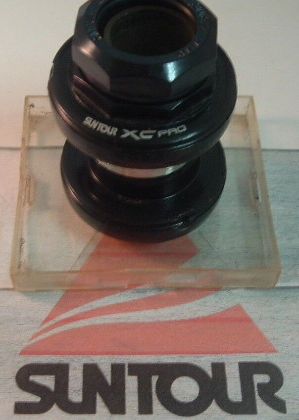 SunTour XC Pro Grease Guard 1  JIS MTB Road Headset NEW   NOS- Vintage- Threaded