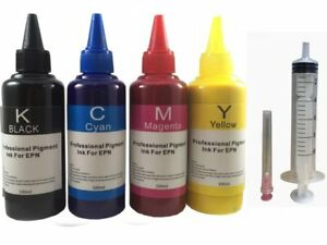 4x100ml-Pigment-Refill-ink-for-Canon-PG-240-CL-241-210XL-211XL-PIXMA-MG3620