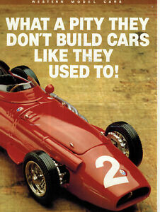 Western-1-24-1-43-Scale-Handmade-White-Metal-Models-Cars-Catalogue-Poster