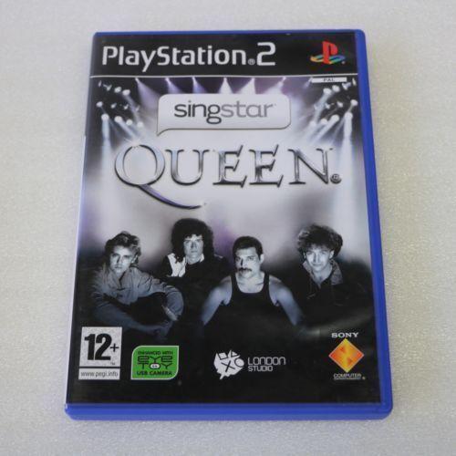 SingStar Queen (Sony PlayStation 2, 2009) NEW
