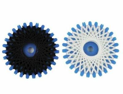 Nähmaschinen Nähzwirn Polyester 20//3 80 m 2 Rollen je 40 m schwarz 9952