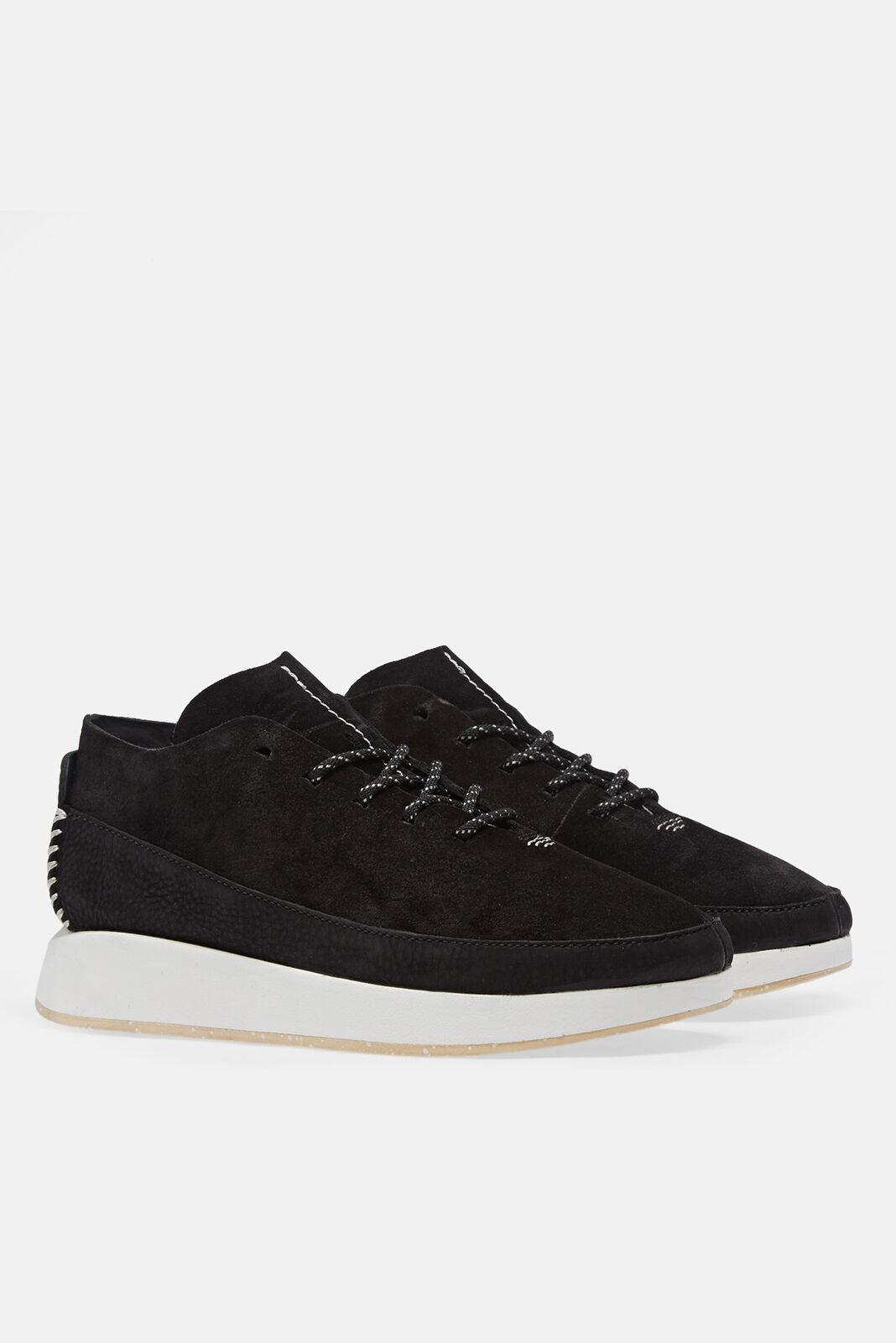 Clarks Originals Kiowa Deportivo Para Hombre Calzado Zapato-Negro Todas Las Tallas