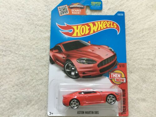 Red Aston Martin DBS Then and Now    Hot Wheels
