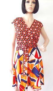 Women-Dress-By-TAYLOR-BEAUTIFUL-Geometric-NWT-Limited-Sheath-Dress