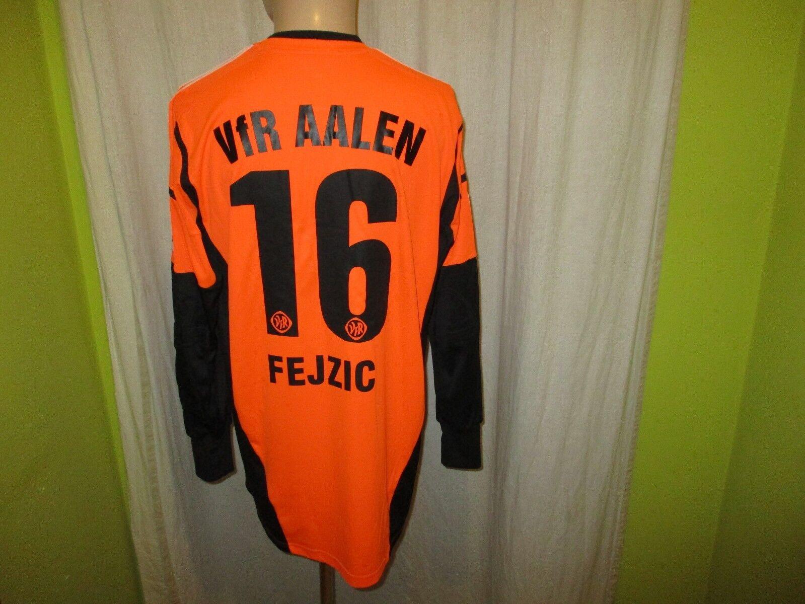 VfR Aalen Adidas Torwart Matchworn Trikot 2012 13  imtech  + Nr.16 Fejzic Gr.XL  | Lebendige Form