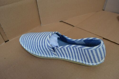 White Striped Flats New Rocketdog Women/'s Henna Navy