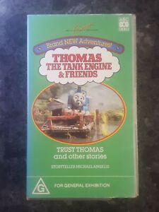 THOMAS-THE-TANK-ENGINE-amp-FRIENDS-TRUST-THOMAS-and-OTHER-STORIES-VHS-VIDEO