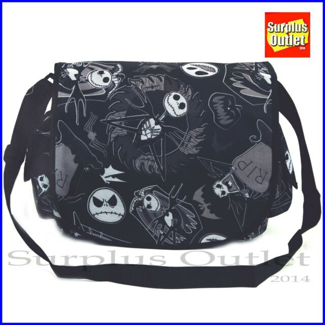 Nightmare Before Christmas Black Large School Messenger Bag For S Or Boys