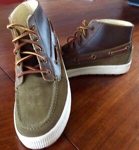 0e6e9fa1320 Ralph Lauren Polo Chukka boot US 8DM rugged suede   Leather rubber ...