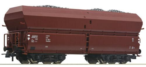 OVP NEU Roco H0 56333 Selbstentladewagen mit Kohleeinsatz der DR