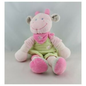 Comforter-Cow-Pink-Dress-Green-Nicotoy-14-3-16in-Cow-Giraffe-Classic