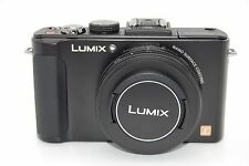 PANASONIC DMC-LX7 10.1MP 3''Screen 3.8x Zoom Digital Camera BLACK