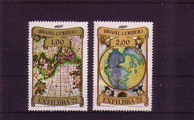 Intellektuell Brasilien Michelnummer 1334-1335 Postfrisch Um Der Bequemlichkeit Des Volkes Zu Entsprechen Übersee:12761