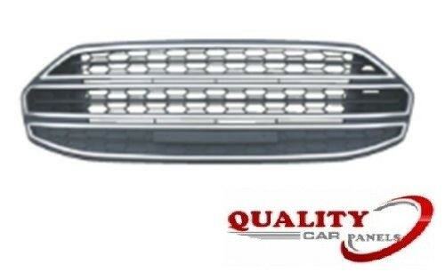 Front Bumper Main Centre Grille All Chrome Ford Ecosport 2014-2018 Brand New