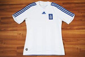 3babdea28 GREECE NATIONAL TEAM AWAY FOOTBALL SHIRT 2007 2008 2009 JERSEY SIZE ...