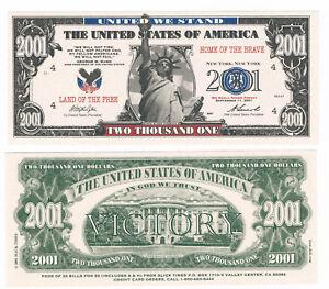 2001 Dollars USA Liberty - 11. September 2001 - Terroranschlag auf das WTC (UNC) - Templin, Deutschland - 2001 Dollars USA Liberty - 11. September 2001 - Terroranschlag auf das WTC (UNC) - Templin, Deutschland