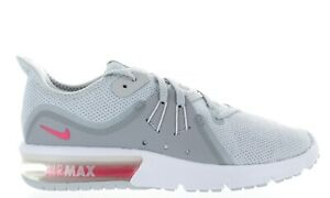 a94a13ede1be6 WMNS NIKE AIR MAX SEQUENT 3 908993 012 PURE PLATINUM RACER PINK DS ...