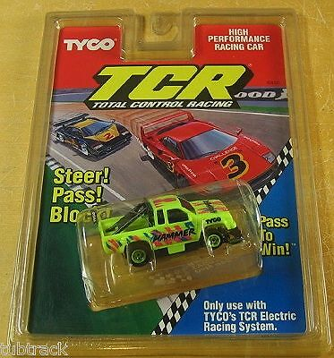 1992 Tyco Tcr Rastrojero slotless coche Raro Moc 6430