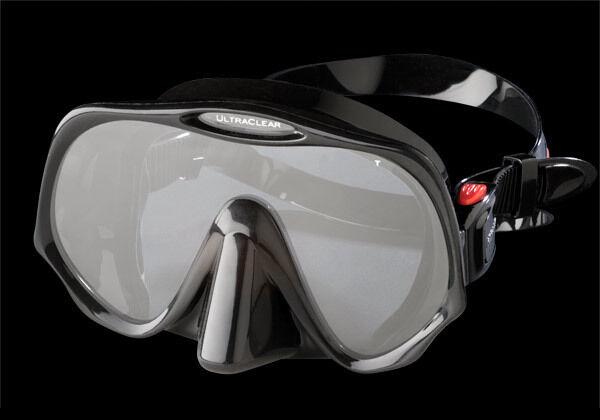 Atomic Aquatics Frameless Maske Maske Maske   schwarz und klar 180c3f