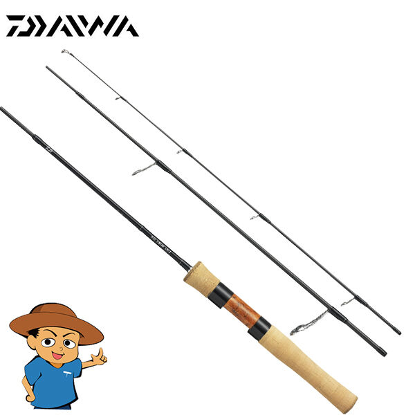 Daiwa WISE STREAM  62L-3 light 6'2  trout fishing spinning rod pole Japan  best price