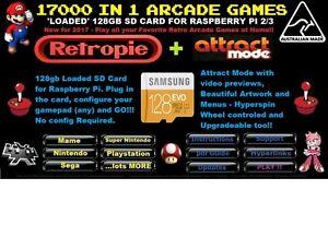 19000-in-1-Raspberry-Pi-2-3-Retro-Loaded-128gb-SD-Card-Attract-Mode-Kodi-2017