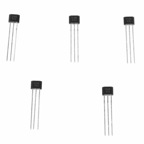 5 Pcs OH44E A3144E 44E Hall Effect IC Sensor for Contactless Switching Y2H3