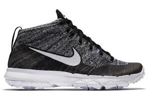 low priced 2f40d 56370 Caricamento dell immagine in corso Nike-da-Donna-Flyknit-Chukka-Nero-Scarpe -da-