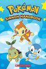 Sinnoh Handbook Pokemon Scholastic by Tracy West