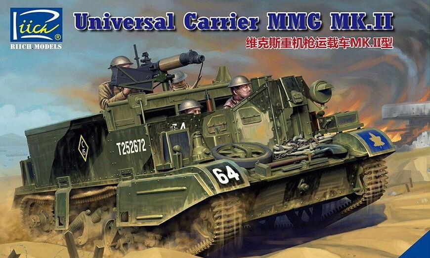 Riich Models 1 35 Universal Carrier MMG Mk.II