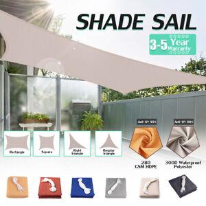 20-039-300D-Sun-Shade-Sail-UV-Block-Canopy-Patio-Top-Rectangle-Cover-Garden-Outdoor