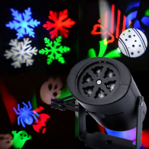 Outdoor-Snowflake-LED-Light-Moving-Snow-Laser-Projector-Garden-Party-Xmas-Decor