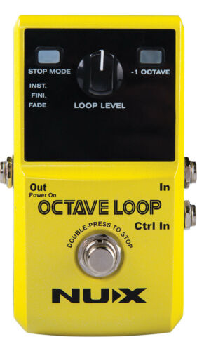 NUX NUX Octave Loop Pedal NEW