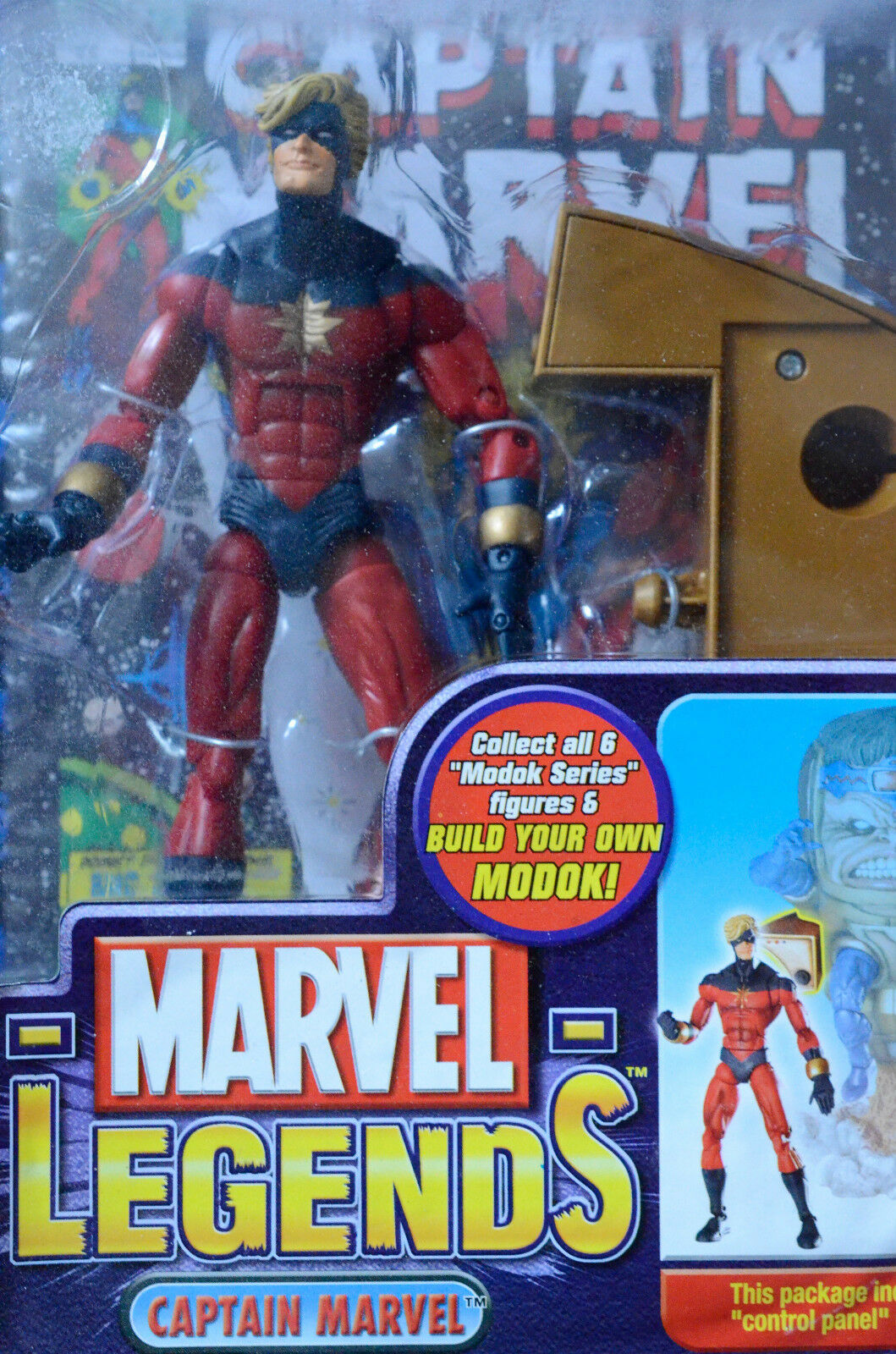 Captain marvel marvel legends comics comics comics 6 inches with modok part new 4a9101