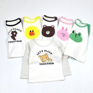 330223e748 Toddler Kids Baby Boys Girls Long Sleeve Animal Cotton T-shirt Tops ...