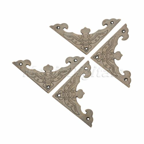 4X Pure Copper Angle Door Window Corner Protector Single-Sided Bat Style Chinese