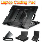 """AU Notebook Cooler Laptop Cooling Pad Fan Table Stand Fits 9""""-17"""" USB Hub"""