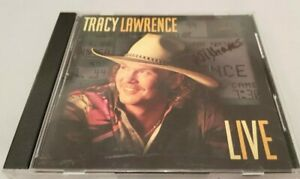 Tracy-Lawrence-Live-1995-Import-CD-Vg-Condition